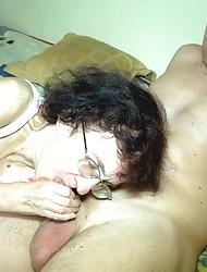 Emaciate granny